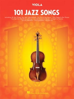 101 Jazz Songs for Viola Partition Alto - laflutedepan