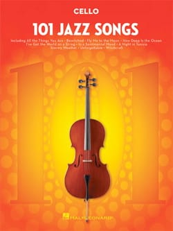101 Jazz Songs for Cello Partition Violoncelle - laflutedepan