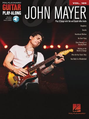 Guitar Play-Along Volume 189 John Mayer - laflutedepan.com