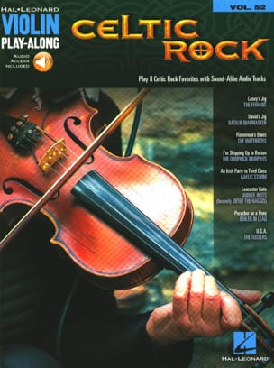 Violin Play-Along Volume 52 - Celtic Rock Partition laflutedepan