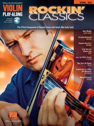 Violin Play-Along Volume 53 - Rockin' Classics - Partition - di-arezzo.fr