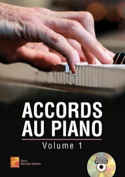 Accords au piano - Volume 1 Pierre Minvielle-Sebastia laflutedepan