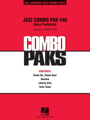 Jaco Pastorius - Jazz Combo Pak - Sheet Music - di-arezzo.co.uk