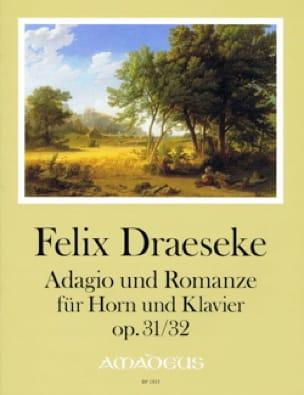 Felix Draeseke - Adagio opus 31 & Romance opus 32 - Partition - di-arezzo.fr