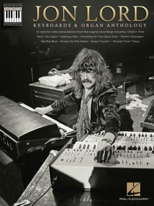 Jon Lord (Deep Purple) - Keyboards - Organ Anthology - Keyboard Recorded Versions - Sheet Music - di-arezzo.com