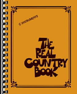 - The Real Country Book - C Instruments - Partition - di-arezzo.fr