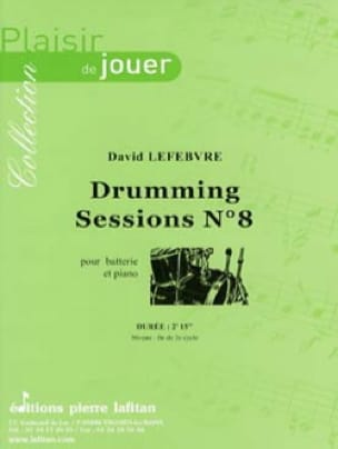 David Lefebvre - Drumming Sessions N°8 - Partition - di-arezzo.fr