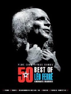 Léo Ferré - 50 Best Of 5 Bonus Tracks - Léo Ferré - Sheet Music - di-arezzo.co.uk