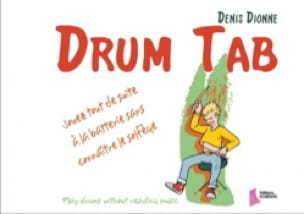 Denis Dionne - Drum Tab - Sheet Music - di-arezzo.com
