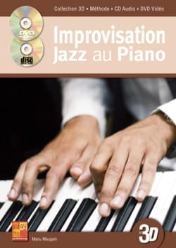 Manu Maugain - Improvisation Jazz au Piano 3D - Partition - di-arezzo.fr