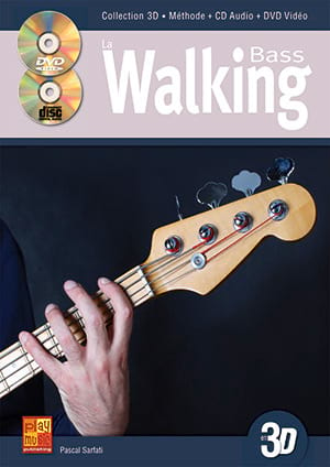 Walking Bass en 3D Pascal Sarfati Partition Guitare - laflutedepan