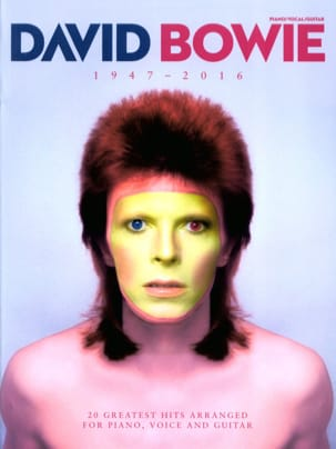 David Bowie - David Bowie 1947 - 2016 - Partition - di-arezzo.fr