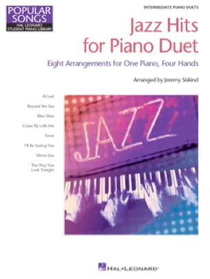 Jazz Hits for Piano Duet Partition Piano - laflutedepan