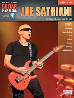 Guitar Play-Along Volume 185 Joe Satriani Joe Satriani laflutedepan