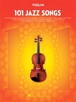 101 Jazz Songs for Violin Partition Violon - laflutedepan