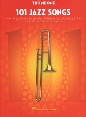 - 101 Jazz Songs for Trombone - Partition - di-arezzo.fr