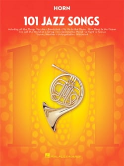 - 101 Jazz Songs for Horn - Partition - di-arezzo.fr