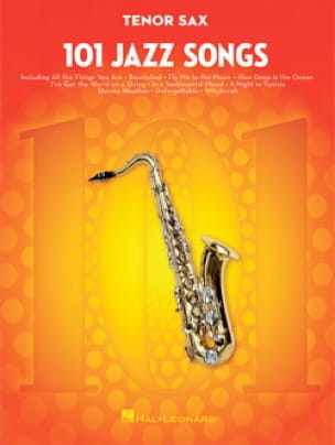 - 101 Jazz Songs for Tenor Sax - Partition - di-arezzo.fr