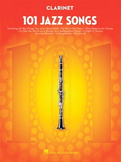 101 Jazz Songs for Clarinet - Partition - laflutedepan.com
