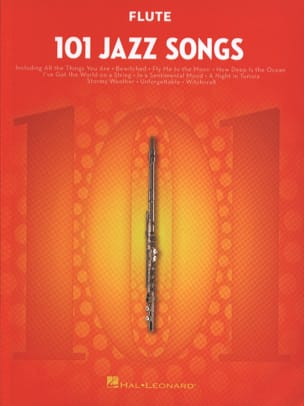 101 Jazz Songs for Flute Partition Flûte traversière - laflutedepan
