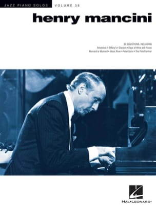 Henry Mancini - Jazz Piano Solo Series Volume 38 - Henry Mancini - Sheet Music - di-arezzo.co.uk