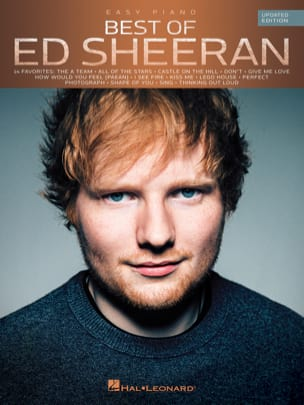 Ed Sheeran - Best Of Ed Sheeran - Easy Piano - Updated Edition - Partition - di-arezzo.co.uk