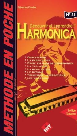 Méthode en Poche n°51 - Harmonica Sébastien Charlier laflutedepan