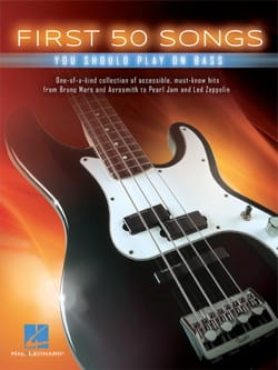 First 50 Songs You Should Play on Bass - Sheet Music - di-arezzo.co.uk