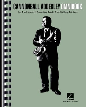 Canonball Adderley - Cannonball Adderley - Omnibook For C Instruments - Sheet Music - di-arezzo.com