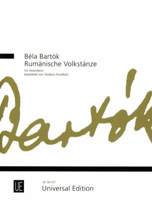 Béla Bartók - Romanian Folk Dances - Partition - di-arezzo.fr