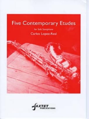 Carlos LOPEZ-REAL - Five contemporary etudes - Partition - di-arezzo.fr