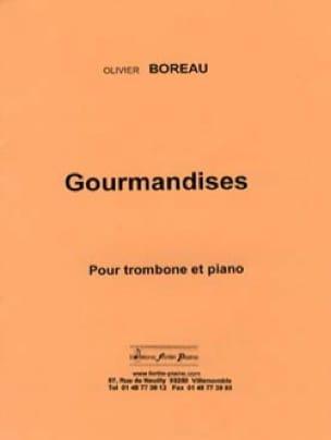 Olivier Boreau - Gourmandises - Partition - di-arezzo.fr