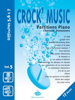 - Crock' music Volume 5 - Partition - di-arezzo.fr