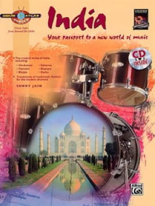 Sunny JAIN - Drum Atlas - India - Partition - di-arezzo.fr