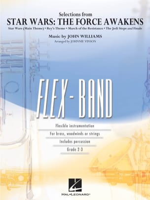 John Williams - Selections from Star Wars - The Force Awakens - FlexBand - Partition - di-arezzo.fr