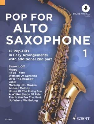 Pop For Alto Saxophone - Volume 1 - Partition - di-arezzo.fr