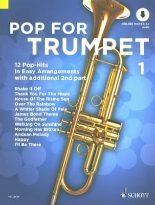 - Pop For Trumpet - Volume 1 - Partition - di-arezzo.fr