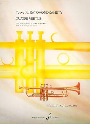 Quatre Vertus - Touve R. Ratovondrahety - Partition - laflutedepan.com