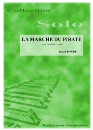 La Marche du Pirate - Julien Pondé - Partition - laflutedepan.com