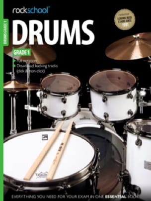 - Rockschool Drums Grade 1 (2012-2018) - Partition - di-arezzo.fr