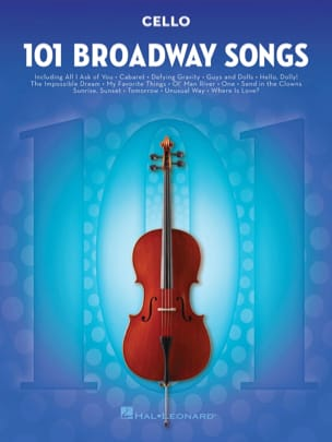 - 101 Broadway Songs for Cello - Sheet Music - di-arezzo.com