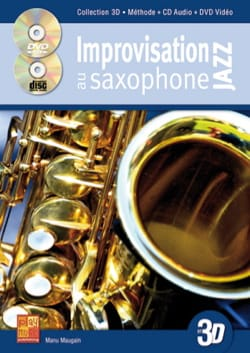 Manu Maugain - Improvisation jazz on saxophone in 3D - Sheet Music - di-arezzo.co.uk
