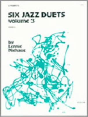 Six Jazz Duets - Volume 3 Lennie Niehaus Partition laflutedepan