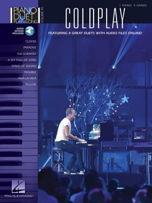Coldplay - Piano Duet Play-Along Volume 45 Coldplay - Partition - di-arezzo.fr