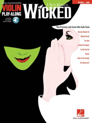 Stephen Schwartz - Violin Play-Along Volume 55 - Wicked - Partition - di-arezzo.fr