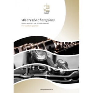 Queen (Freddy Mercury) - We are the Champions - Clarinet Quartet - Sheet Music - di-arezzo.com