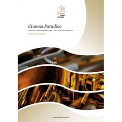 Andrea & Ennio Morricone - Cinema Paradiso - Sax Quartet - Sheet Music - di-arezzo.co.uk