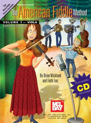 Brian Wicklund & Faith Farr - The American Fiddle Method for Viola, Volume 1 - Sheet Music - di-arezzo.co.uk