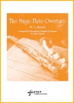 The Magic Flute Overture MOZART Partition Saxophone - laflutedepan