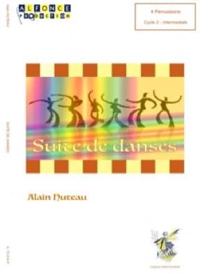 Suite de Danses - Alain Huteau - Partition - laflutedepan.com